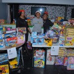 Toys for Tots Table Ahe and geo